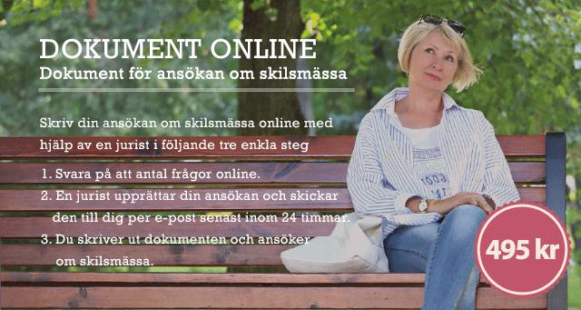 skilsmässa online