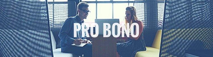 pro bono - juridisk rådgivning