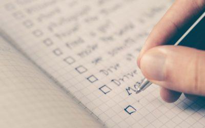 Checklista för äktenskapsförord
